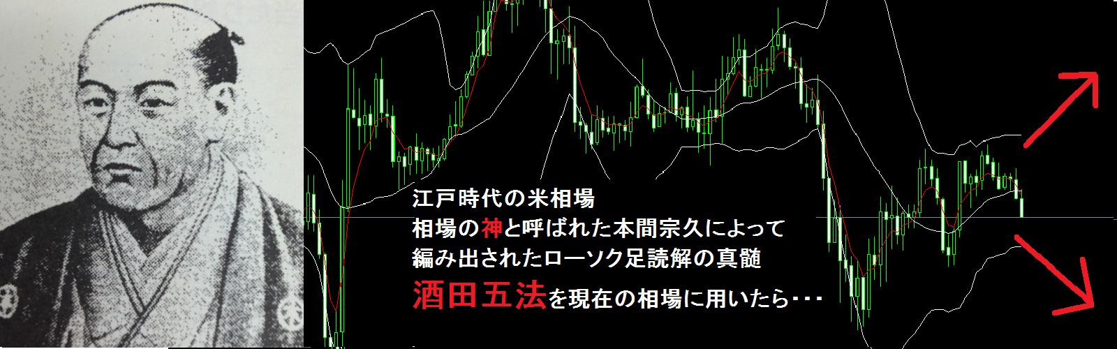 酒田五法 ~ローソク足チャートの真髄・酒田五法!~